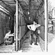New York: Telephone, 1891 Poster