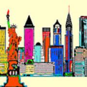 New York - The Big City Poster