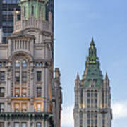 New York Woolworth Building  Poster