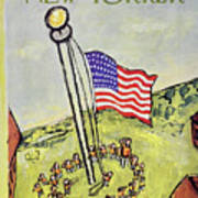 New Yorker July 5 1958 Poster