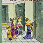 New Yorker November 1 1958 Poster