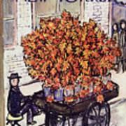 New Yorker November 8 1958 Poster