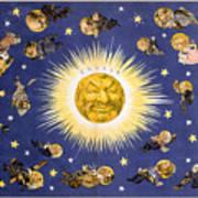 New York's New Solar System Vintage Poster 1898 Poster