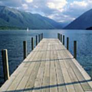 New Zealand Dock Poster