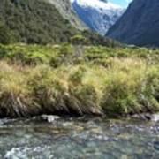 New Zealand Landscape 2 Poster