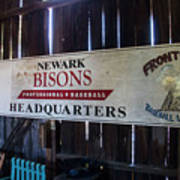 Newark Bisons Poster