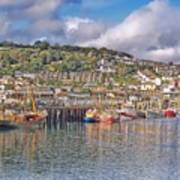 Newlyn Harbour Cornwall 2 Poster