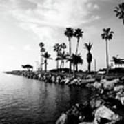 Newport Beach Jetty Poster by Paul Velgos