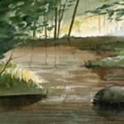 Newton Creek 1 Poster by Sean Seal