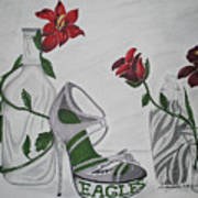 Nfl Eagles Stiletto Poster