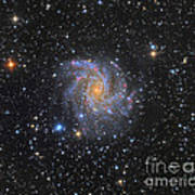 Ngc 6946, The Fireworks Galaxy Poster