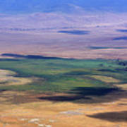 Ngorongoro Crater Tanzania Poster by Aidan Moran