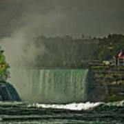 Niagara Falls In Autumn Poster