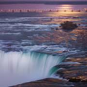 Niagara Reflections Poster