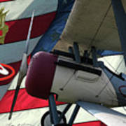 Nieuport 28c Hat In The Ring Poster