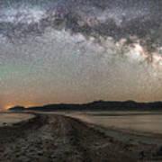 Night In The Black Rock Desert Poster
