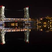 Night Bridge Poster