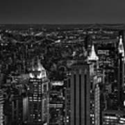 Night In Manhattan Poster