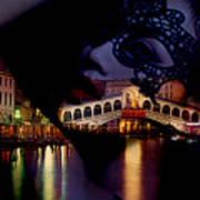 Night In Venice Poster