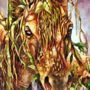 Night Life The Stallion Poster