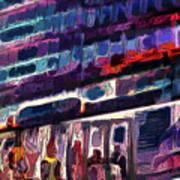 Night Lights Of London Poster