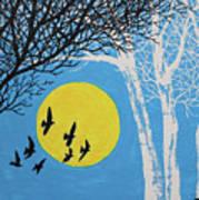 Night Scene Poster