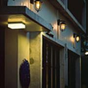 Night Street Cafe Poster
