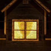 Night Window Poster