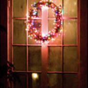 Night Wreath Poster