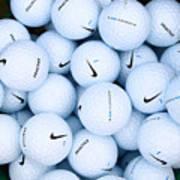 Nike Golf Balls Poster
