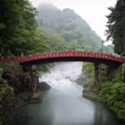 Nikko Shin-kyo Bridge Poster