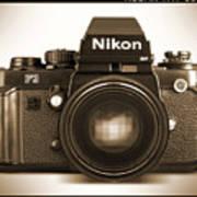 Nikon F3 Hp Poster
