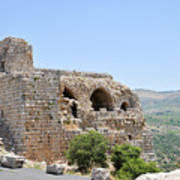 Nimrod Fortress National Park  Poster