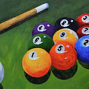Nine Ball Poster