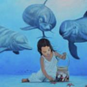 Ninia Del Mar Poster