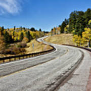 Nm Hwy 64 In The San Juan Mountains Poster