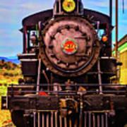 No 29 Virgina Truckee Train Poster