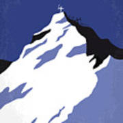 No492 My Everest Minimal Movie Poster Poster