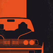 No552 My The Transporter Minimal Movie Poster Poster