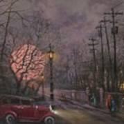 Nocturne In Lavender Poster