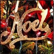 Noel Ornament Poster