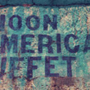 Noon American Buffet Poster