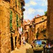 Noon In Sienna Poster