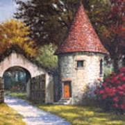 Normandy Garden Poster