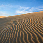 North Carolina Jockey's Ridge State Park Sand Dunes Poster