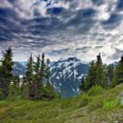 North Cascades National Park - Washington Poster by Brendan Reals