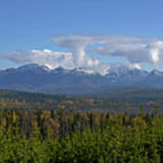 North Fork Autumn Poster