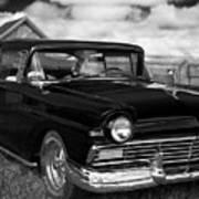 North Rustico Vintage Car Prince Edward Island Poster
