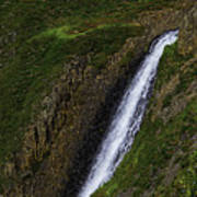 North Table Mountain Falls Poster