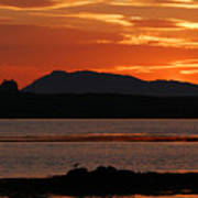 North Uist At Sunrise Poster